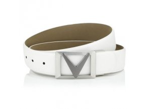 cw belt white