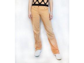 kalhoty peach