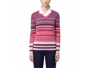 puma depths v neck golf sweater 572551 02 peacoat