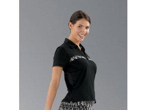 Callaway dámské golfové tričko černé velikost S