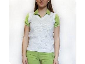 BackTee dámská golfová vesta bílá