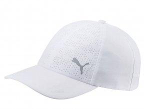 Puma DuoCell dámská golfová čepice bílá