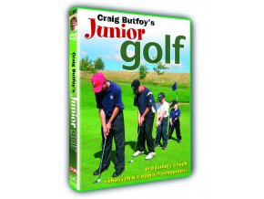 DVD Junior Golf pro hráče golfu od 3-16 let