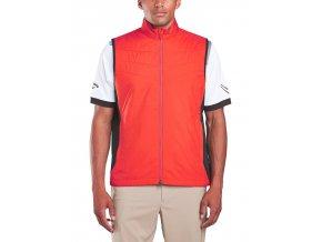 Callaway funkční golfová vesta červená