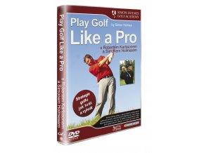 DVD Hraj golf jako PRO s R. Karlssonem a S. Holmesem