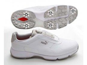 Puma Ignite Drive DISC pánské golfové boty bílé