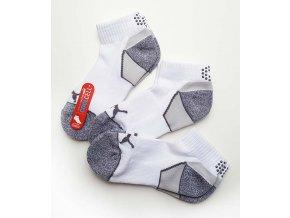 Puma Pounce Quarter  crew ponožky bílé 3 páry