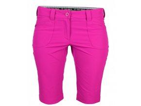 Tony Trevis dámské golfové kraťasy SlimFit pink