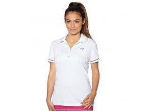 Puma Golf Tech Polo dámské bílé