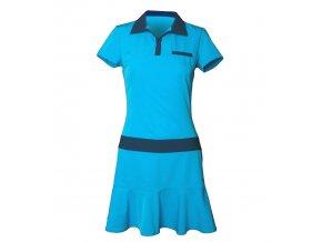Tony Trevis dámské golfové šaty černo modré