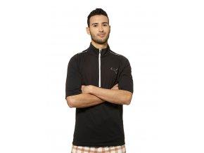 Pánská golfová bunda do deště Puma Storm černá