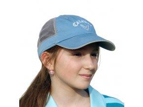 Callaway HY Pearl Mesh dámská golfová čepice modro bílá