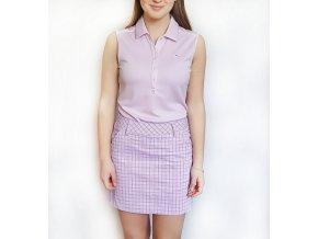 Puma sukne triko fialova1Puma Plaid Skirt dámská golfová sukně levandulová kostička