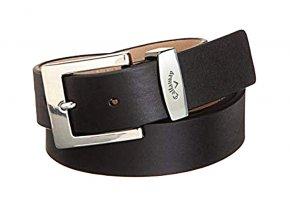Callaway Chev pánský kožený golfový pásek černý