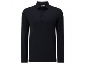 Callaway UK Essential pánské golfové tričko s dlouhým rukávem černé