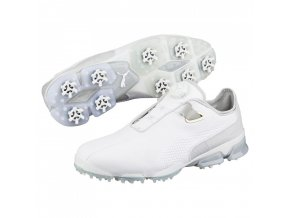 Puma TT Ignite Premium DISC pánské golfové boty bílé