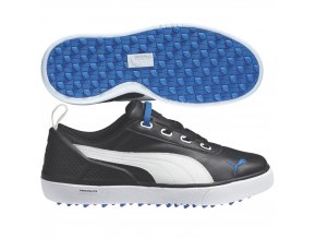 monilite mini junior golf shoes black