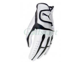 Puma Flexlite dámská kožená golfová rukavice bílo/černá