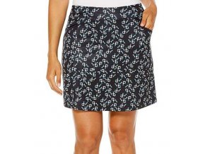 "Callaway Jewel Print 18"" dámská golfová sukně tmavomodrá"