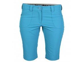 Tony Trevis dámské golfové kraťasy SlimFit modrá