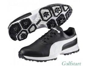 Puma Golf Ace pánské golfové boty černo bílé