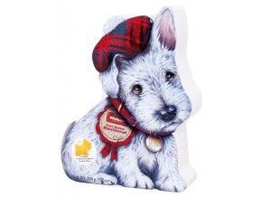 Walkers dárková plechovoá dóza Bílý skotský terier 200g