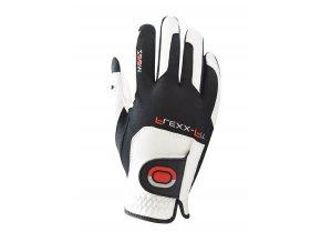 Dámská golfová rukavice ZOOM bílá-červená-černá PRAVÁ