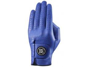 Dolce Gabana luxusní dámská kožená golfová rukavice modrá LEVÁ L