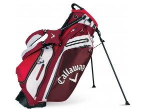 Callaway Hyper-Lite 5 stand bag červeno/bílo/černý