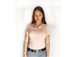 FootJoy dámské golfové tričko růžové