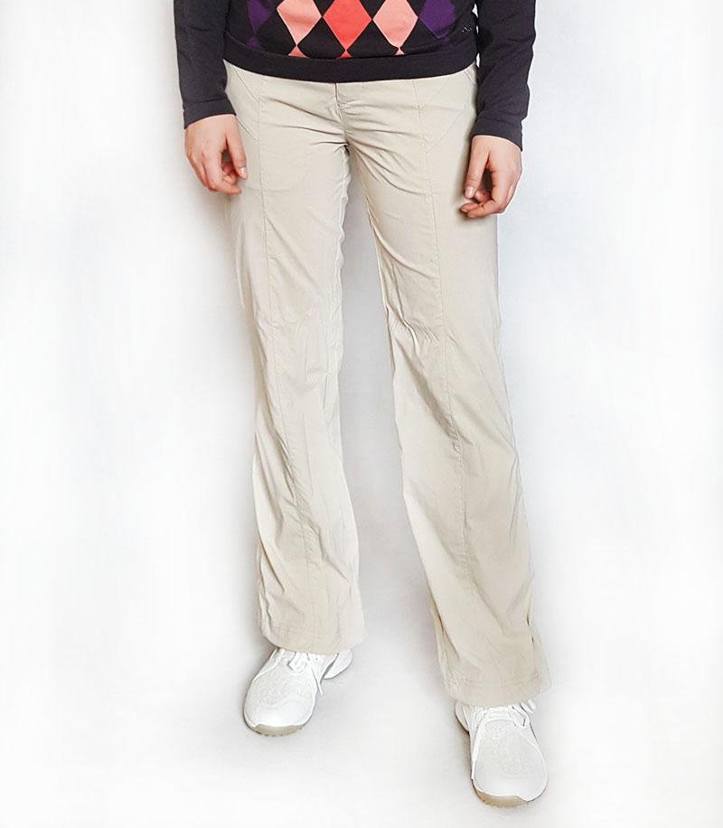 Röhnish Womens Only Röhnish SPLIT letní golfové kalhoty béžové Velikost: XS