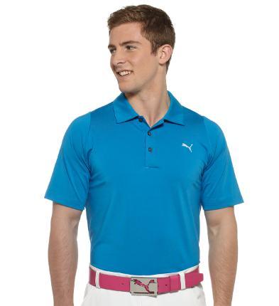 Puma golf Puma pánské golfové tričko Duo-swing modré Velikost: S