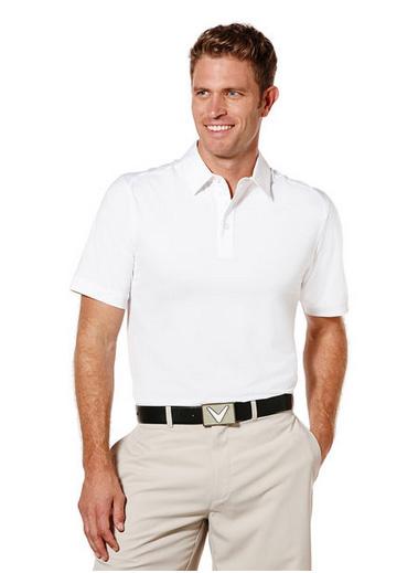 Callaway golf Callaway Poly Polo pánské bílé Velikost: XXL