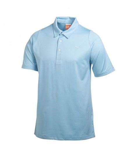Puma golf Puma Duo Swing pánské golfové tričko modré Velikost: S