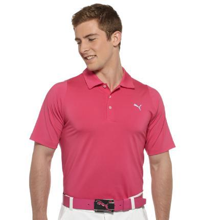 Puma golf Puma pánské golfové tričko Duo-swing pink Velikost: L