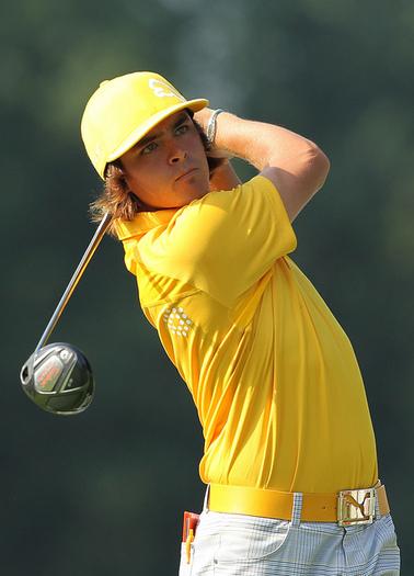 Puma golf Puma pánské golfové tričko žluté Velikost: XXL