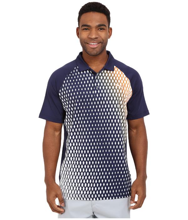 Puma golf Puma Dimension pánské golfové tričko modré Velikost: L