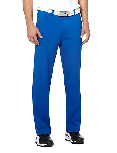 Puma golf Puma 6 Pocket pánské golfové kalhoty - modrá Velikost: 34/34