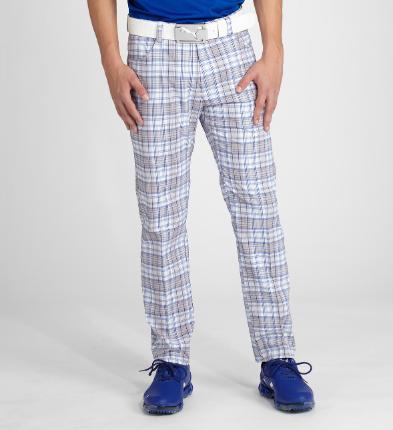 Puma golf Puma pánské golfové kalhoty s kostkami velikost kalhot: 34/34
