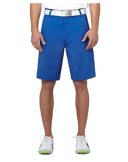 Pánské golfové kraťasy Puma Golf Tech modré Velikost: 38