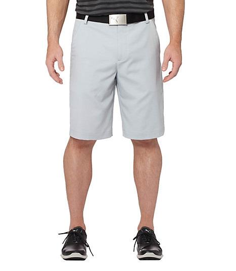 Puma Golf Tech pánské golfové kraťasy šedé Velikost: 34