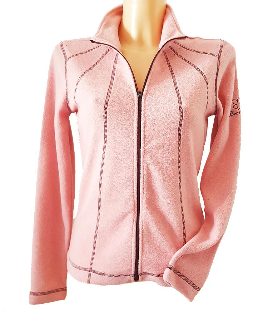 BackTee dámská golfová fleecová bunda - růžová Velikost: XS