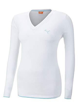 Puma golf Puma dámský golfový svetr bílý