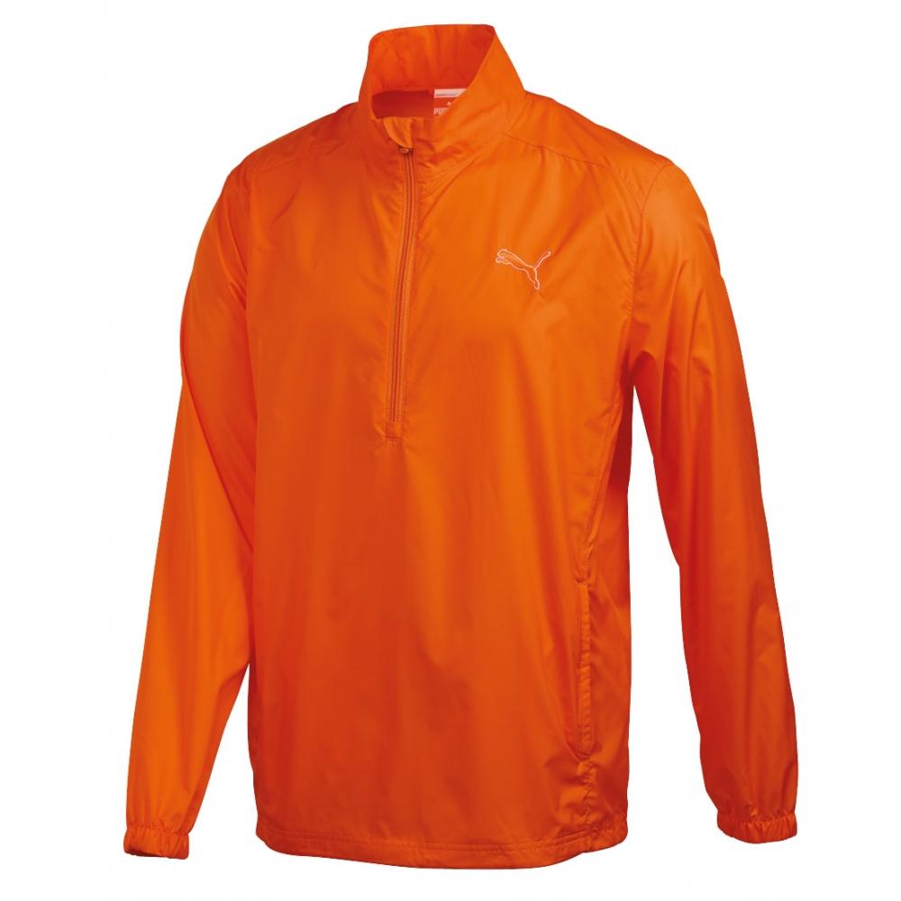 Puma golf Puma juniorská bunda do větru oranžová Velikost: 128