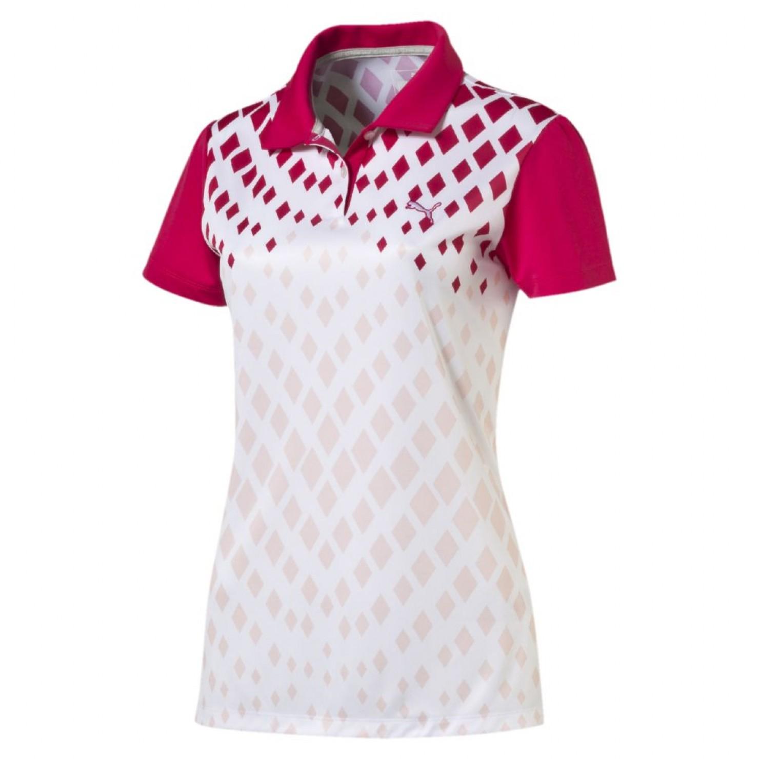 Puma golf Puma juniorské golfové tričko Diamond Print Velikost: 164