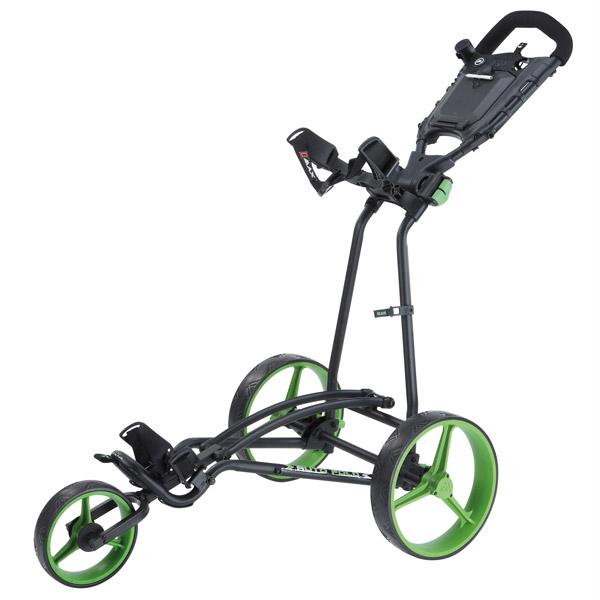 Golfový vozík Big Max TI 1000 Autofold+ černo-zelený
