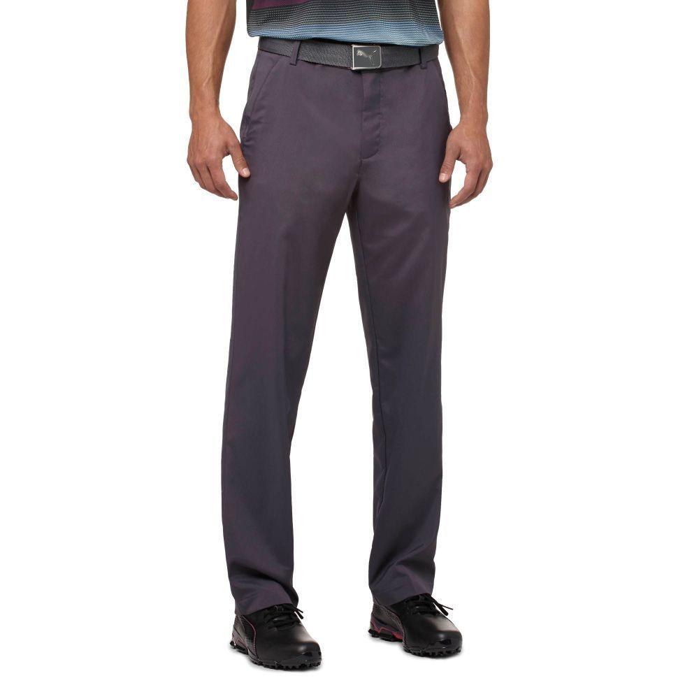 Puma golf Pánské golfové kalhoty PUma Tech pant antracitová velikost kalhot: 33/34