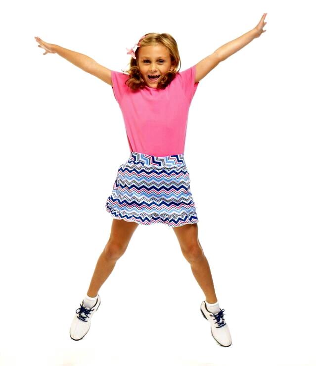 Golftini Girl Hipster Tech shork dívčí golfová sukně Velikost: XL