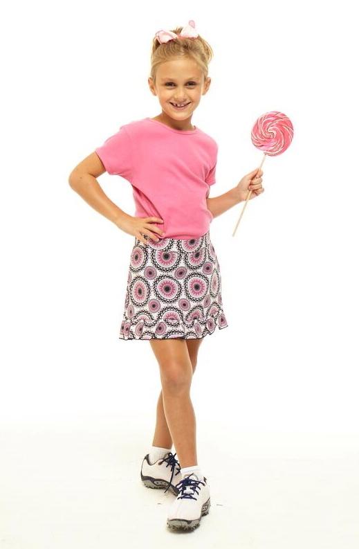 Golftini Girl Party Time dívčí golfová sukně Velikost: M