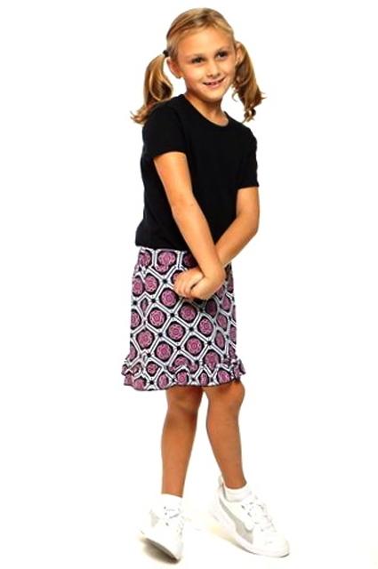 Golftini Girl Starstruck Tech dívčí golfová sukně Velikost: XL